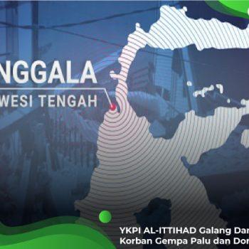 YKPI AL-ITTIHAD Galang Dana Untuk Korban Gempa Palu dan Donggala