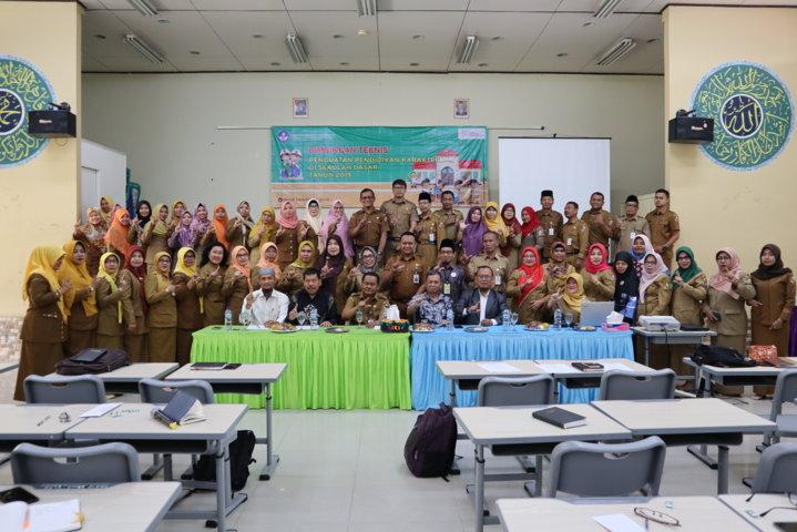 Bimbingan Teknis Penguatan Pendidikan Karakter di Sekolah Dasar Tahun 2019 Oleh Ditpsd Kemdikbud