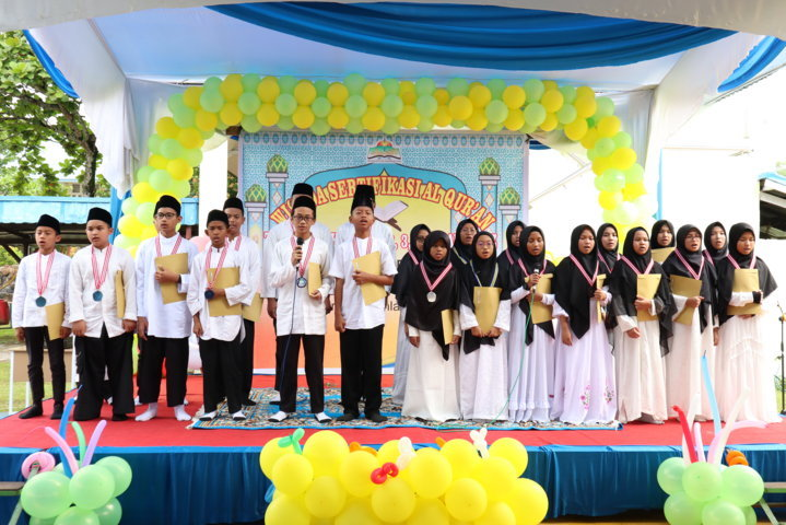 Wisuda Sertifikasi Al-Qur'an Tahsin dan Tahfidz SMPIT Al-Ittihad Semester Ganjil 2019/2020