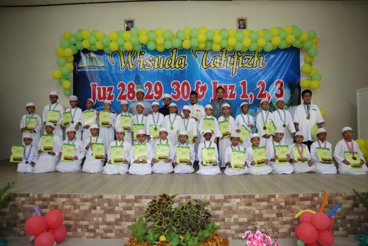 Wisuda Tahfizh Juz 1,2,3 & Juz 28,29,30 Bagi Siswa, Orang Tua dan Guru Non Al-Qur'an SDIT Al-Ittihad TA.2019/2020