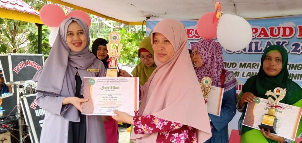 TKIT Al -Ittihad Juara 1 Story Reading dan Juara 3 Bacaan Surat Pendek di Universitas Langcang Kuning Tingkat Kota