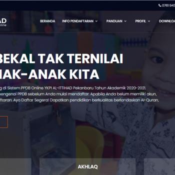 Tata Cara Pendaftaran PPDB Online YKPI AL-ITTIHAD