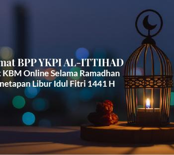 Taklimat BPP Terkait KBM Online Selama Ramadhan dan Penetapan Libur Idul Fitri 1441 H