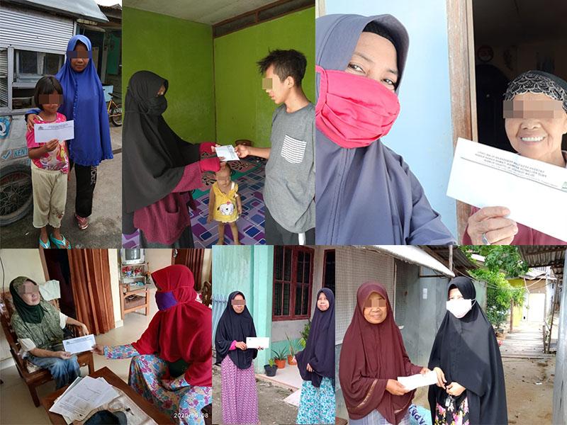 TKIT dan SMPIT Serahkan Hasil Donasi BAKSOS Ramadhan 1441 H