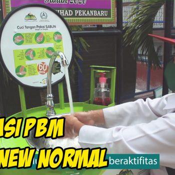 Informasi Tahun Pelajaran 2020/2021 dan Sosialisasi Virtual New Normal SIT YKPI Al Ittihad Pekanbaru