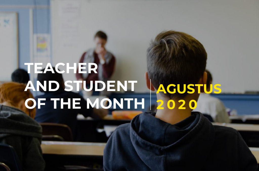 Penghargaan Guru dan Murid Teladan Bulan Agustus 2020