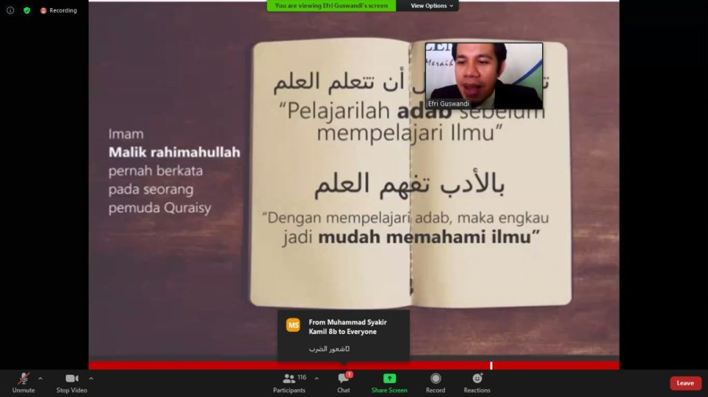 latihan dasar kepemimpinan MTs Al-Ittihadiyah