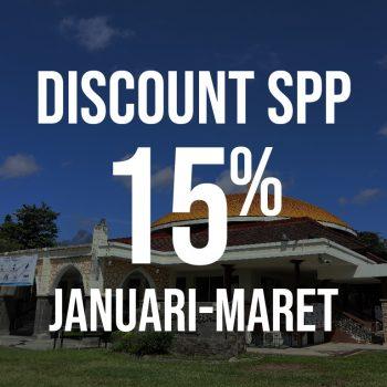 Informasi Discount/Potongan SPP Bulan Januari-Maret 2021 SIT YKPI Al-Ittihad.