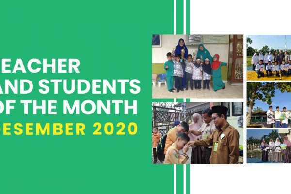 Penghargaan Guru dan Murid Teladan Bulan Desember 2020