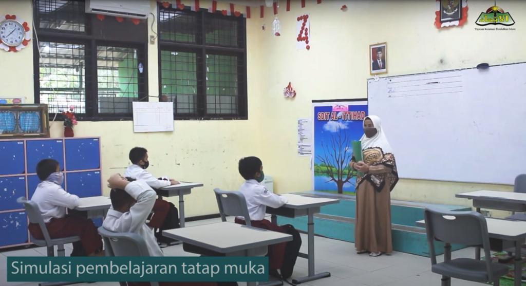 Informasi Pembelajaran Tatap Muka Terbatas (PTMT) SIT YKPI Al-Ittihad.