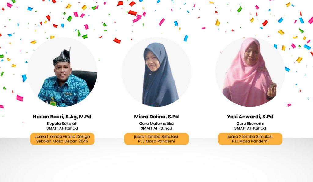 SMAIT Al-Ittihad Pekanbaru ke-Tingkat Nasional