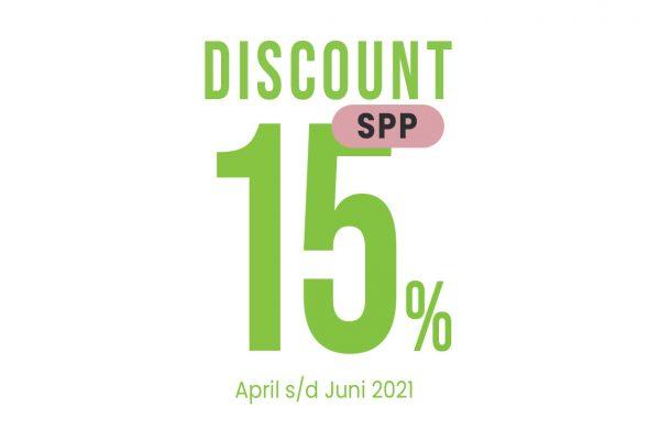 Informasi Discount/Potongan SPP Bulan April-Juni 2021 SIT YKPI Al-Ittihad.