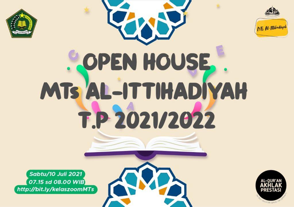 MTs Al-Ittihadiyah Siap dan Semangat Menyambut Tahun Ajaran Baru 2021/2022